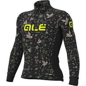 Alé Cycling Graphics PRR Versilia Winter LS Jersey Men black